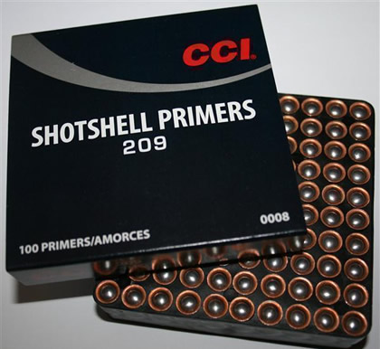 CCI No.209 Shotgun Primers - gunpro