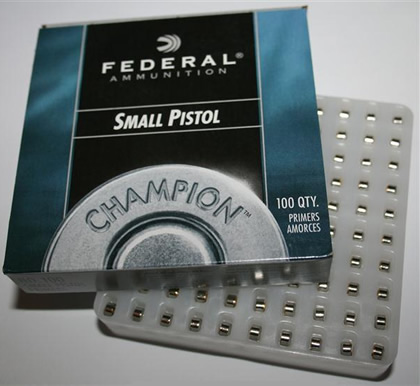 Federal Small Pistol Primers - gunpro