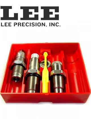 Lee 3 Die Set 9mm Luger Carbide - gunpro