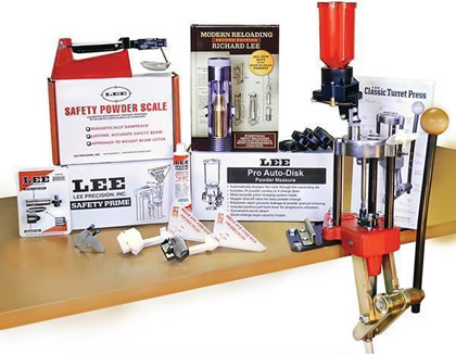 Lee Classic Cast 4-Hole Turret Press Kit - gunpro